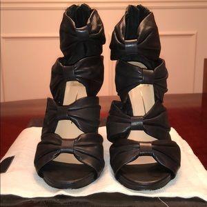 DOLCE VITA-Black leather SAMMI